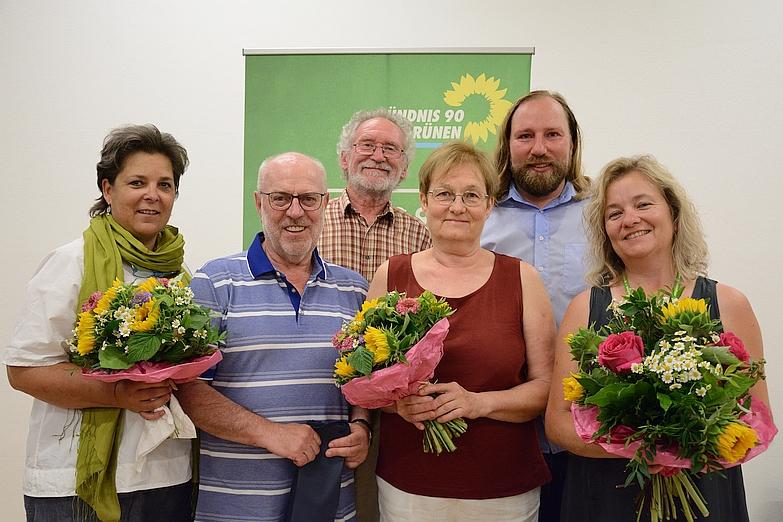Gruppenbild 20 Jahre Grüne Putzbrunn