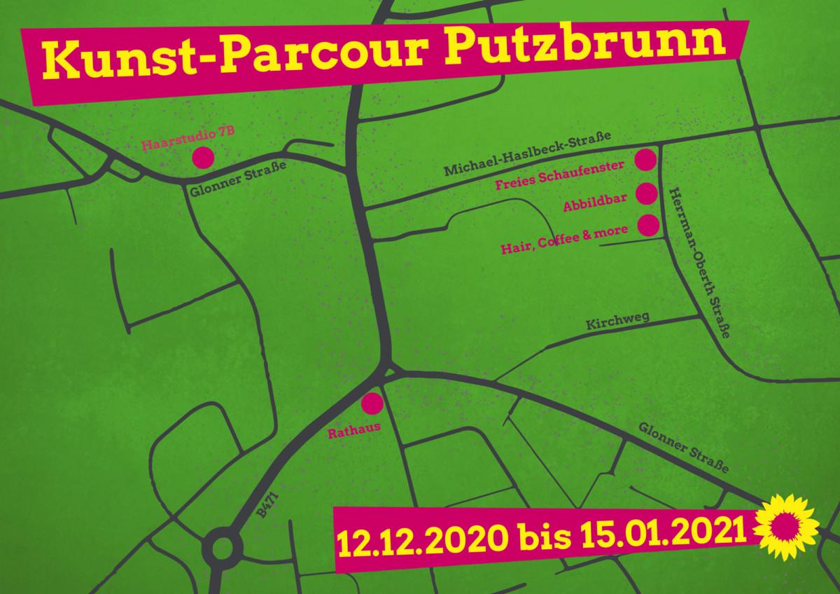 Kunst-Parcours-Karte